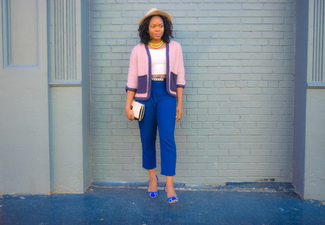 Befitting Style Oyinkan Wearing High Low Sweater13