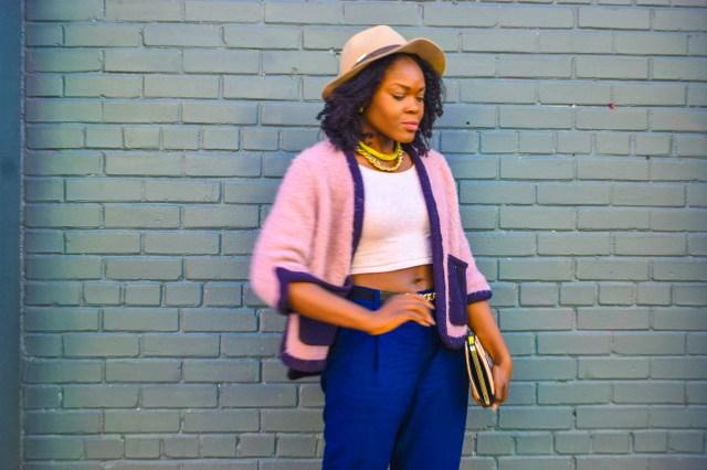 Befitting Style Oyinkan Wearing High Low Sweater 3