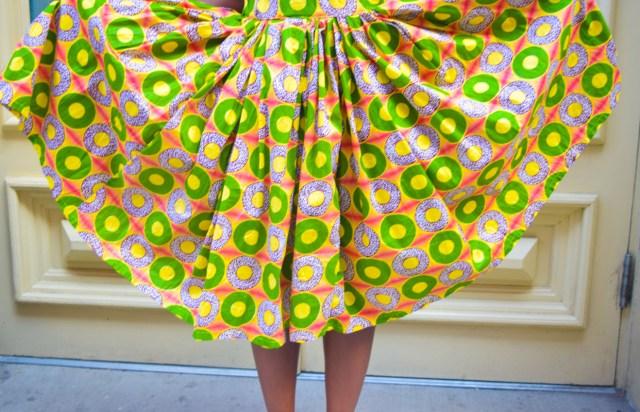 Befitting Style Oyinkan Wearing Ankara Print Skirt With Crop Top 25