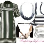 Striped T-Shirt Dresses 3 Ways