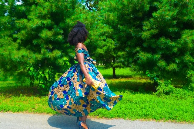 Befitting Style Oyinkan Wearing Ankara Dress Wedding Guest 13