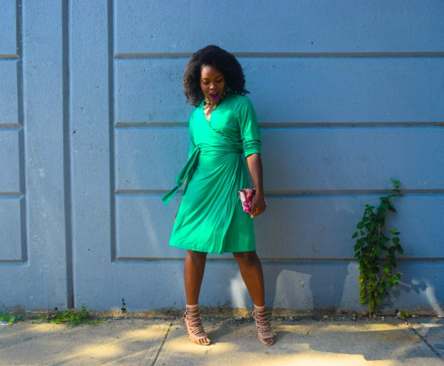 befitting-style-oyinkan-wearing-green-wrap-dress-fall-11