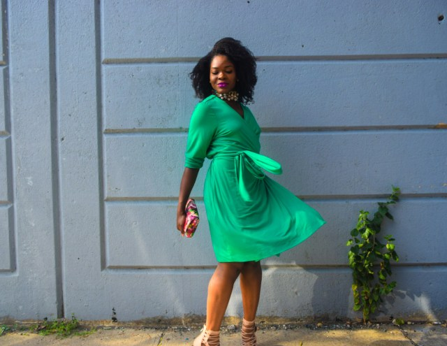 befitting-style-oyinkan-wearing-green-wrap-dress-fall-5