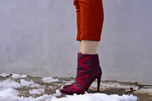 Befitting Style Oyinkan Wearing Brown Ruffled Blazer NYFW 10