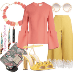 3 Ways To Wear The Coral Roksanda Truffaut Bell Sleeve Top