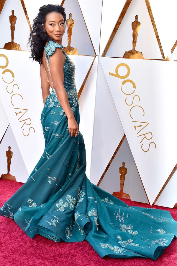 Oscars 2018 Best Dressed Betty Gabriel