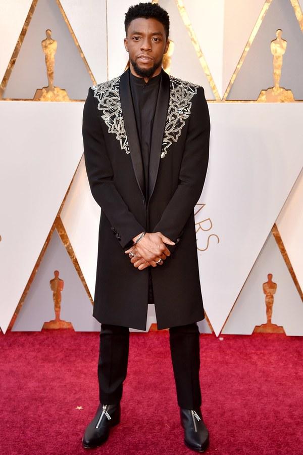 Oscars 2018 Best Dressed chadwick boseman