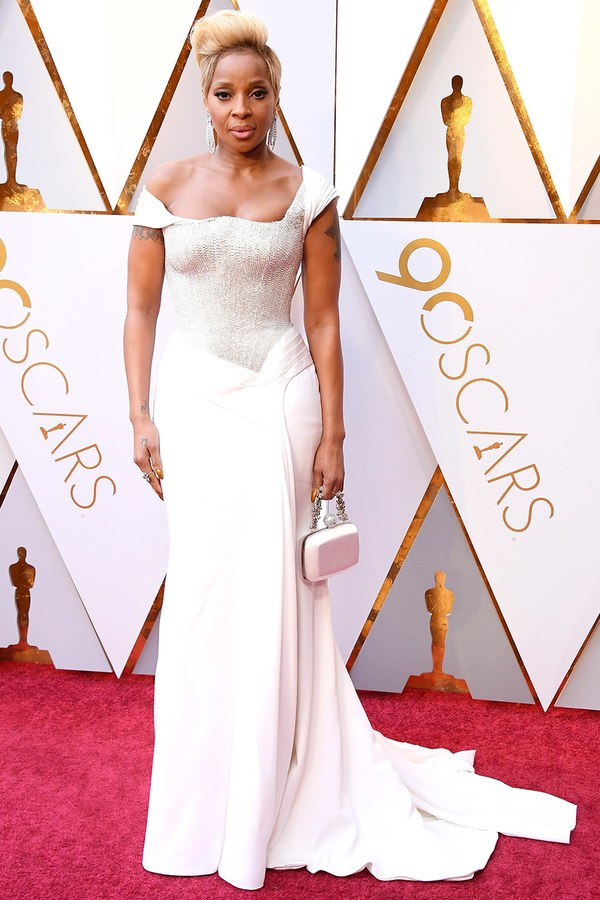 Oscars 2018 Best Dressed Mary J Blige