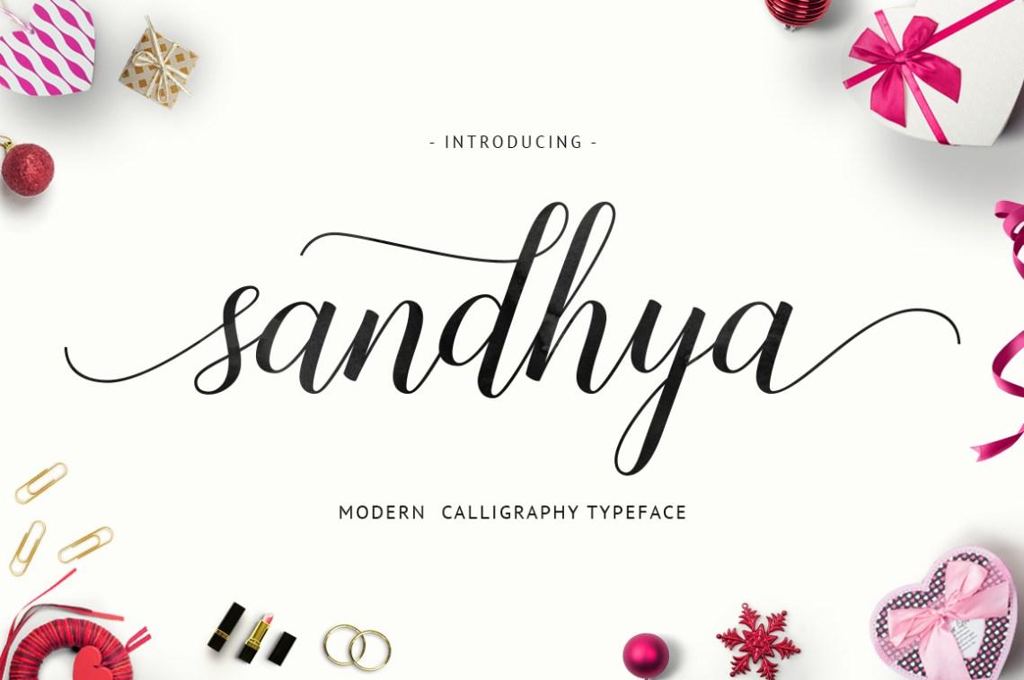 Download Sandhya Script - Befonts.com