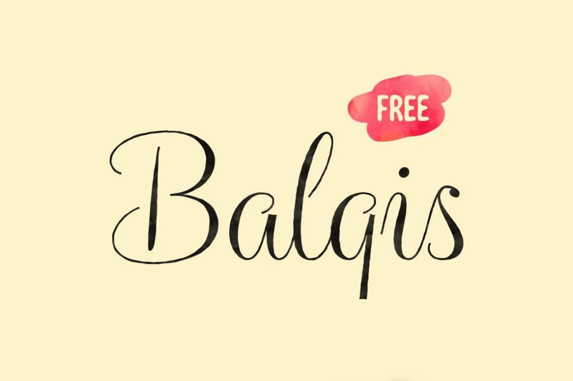 Download Balqis Font - Befonts.com