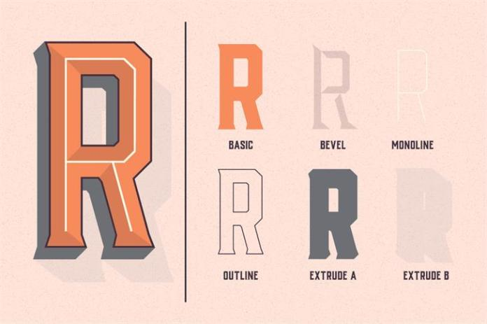 Vhiena Typeface