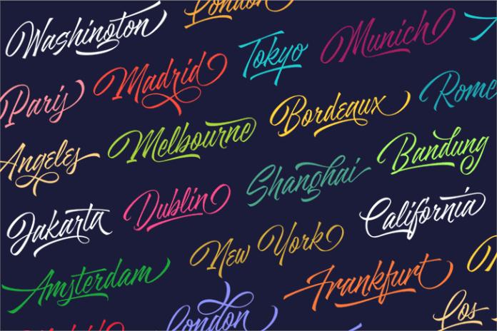 Azkia Script Font