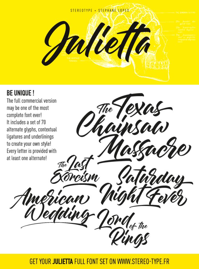 Julietta Script Font