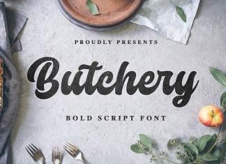 Butchery Script Font