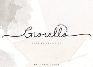 Giorello Signature Font