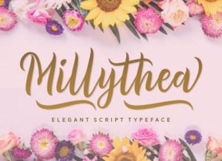 Millythea Script Font