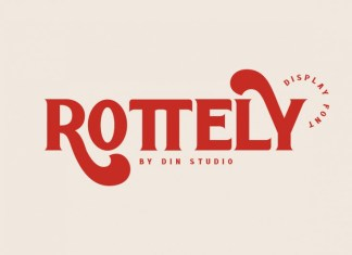 Rottely Display Font