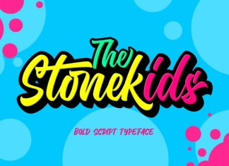 Stonekids Bold Script Font