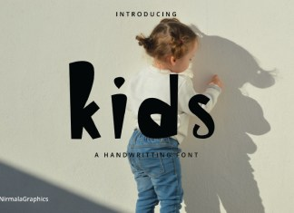 Kids - Handwritten Font