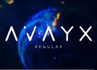 AVAYX Typeface