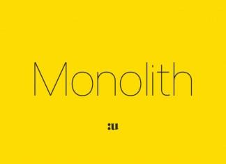 Monolith Sans Font Family