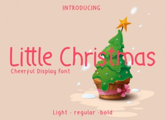 Little Christmas - Cheerful Holiday Font