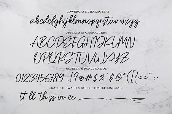 Gatteway Signature Font