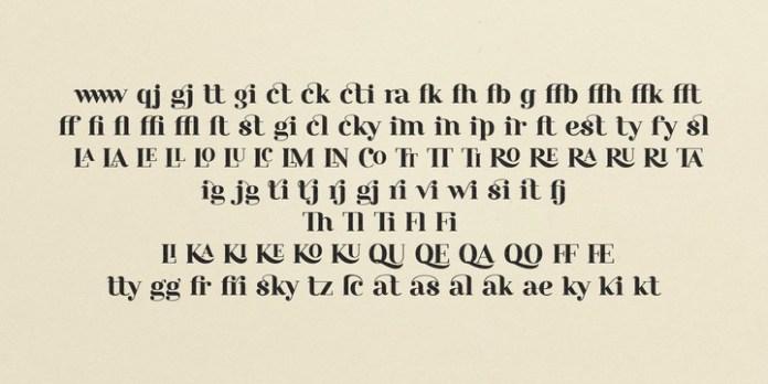 Rosmatika Serif Font Family