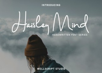 Haisley Mind - Handwritten Script Font