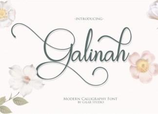 Aminarthie Calligraphy Font