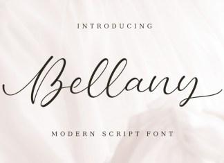 Bellany - Modern Script Font