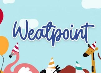Weatpoint Script Font