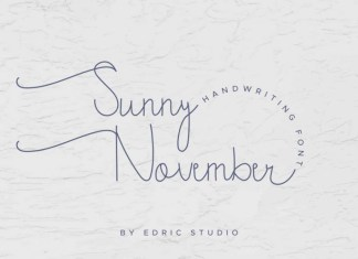 Sunny November Handwritting Font
