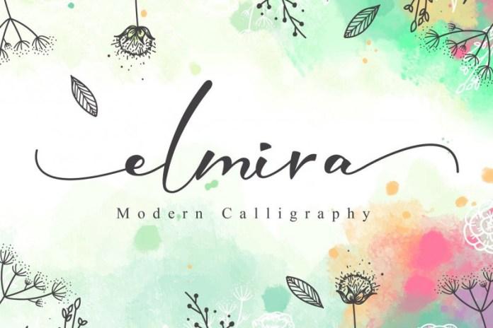 Elmira Script Font