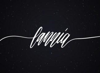 Lannia Handwritten Font
