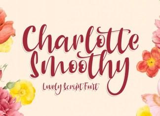Charlotte Smoothy Script Font