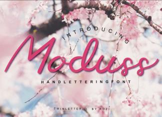 Moduss Handwritten Font