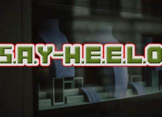Say Hello Font