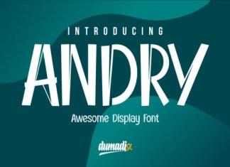 Andry Display Font