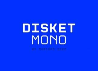 Disket Mono Free Font