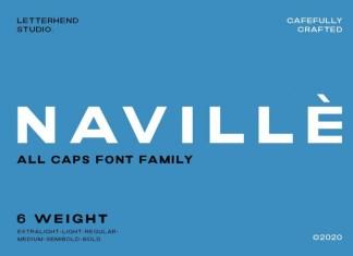Navillè Font Family