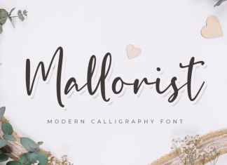 Mallorist Script Font
