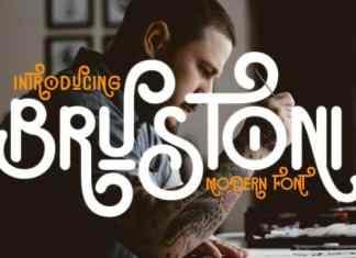 Brustoni Display Font