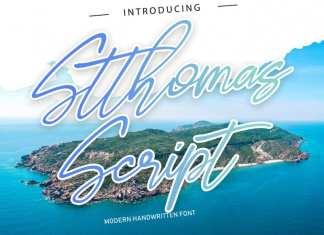 Stthomas Script Font