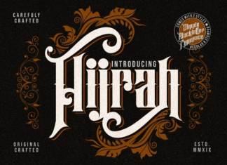 Hijrah Display Font