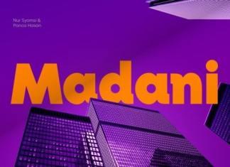 Madani Sans Serif Font