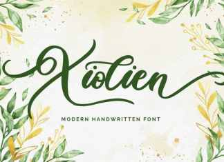 Xiolien Script Font