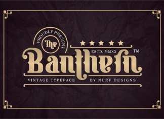 Banthern Display Font