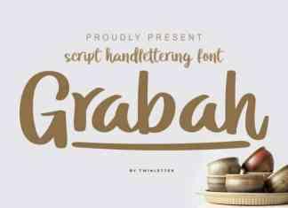 Grabah Script Font