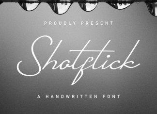 Shotflick Handwriting Font